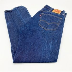 Levi's 501 Button Fly Straight Leg Jeans 40x34